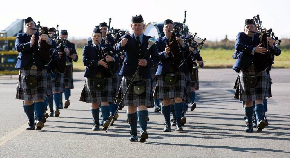 Moray success for Piping at Forres thanks to Lossiemouth-based 2622 Squadron.