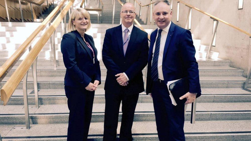Michelle Rennie and Roy Brannen met with Richard Lochhead this week.