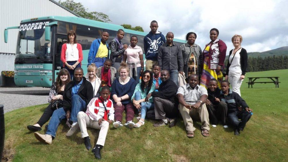 Fundraising about to begin for Buckie High School's Tanzanian exchanges.
