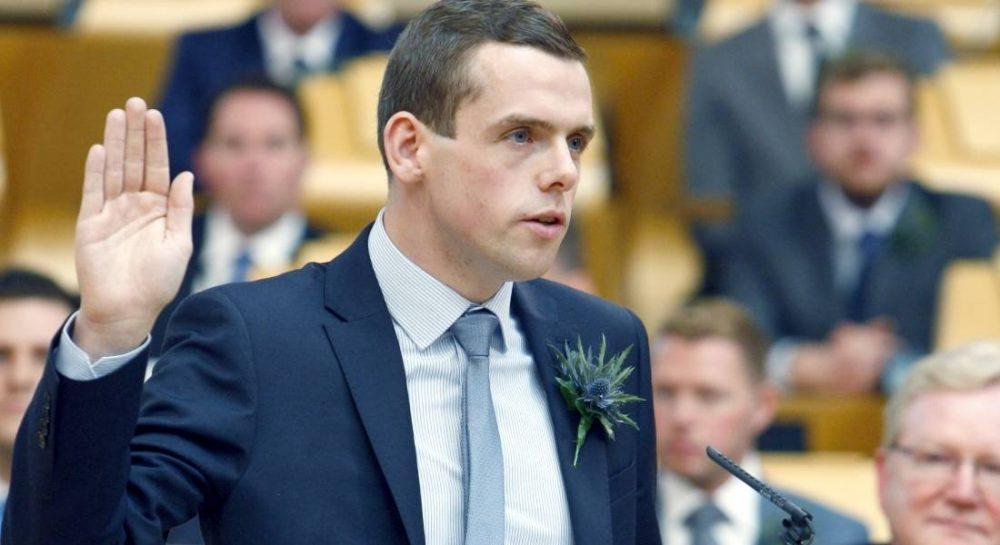 Douglas Ross - welcomes halt to the named person legislation.