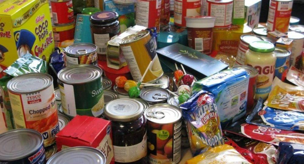 Three day food collection appeal at Tesco stores.