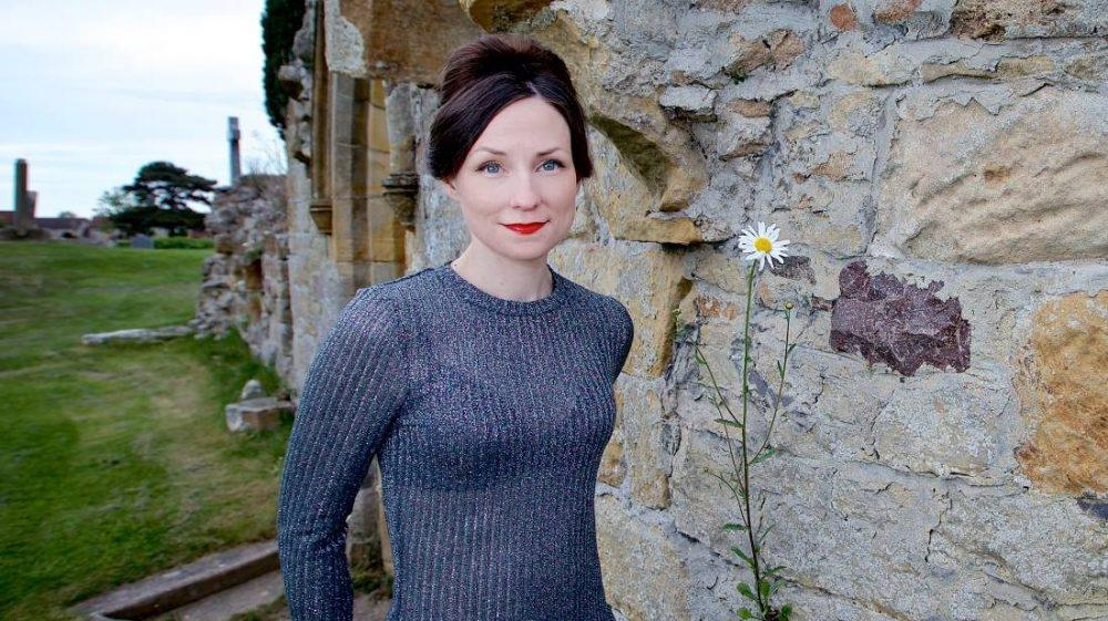 Julie Fowlis, pictured at Kinloss Abbey, will be the opening act for this years Findhorn Bay Arts festival.  (Paul Campbell)