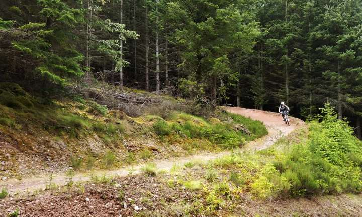 New tracks opened on the Moray Monster Trails