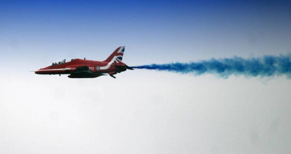 Red Arrows thrilled at Lossiemouth on Saturday