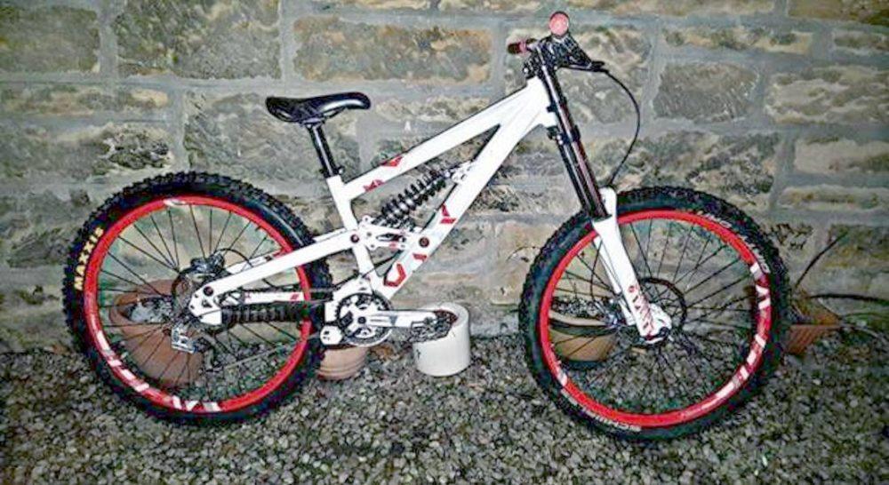 Stolen bike is worth a four-figures sum.