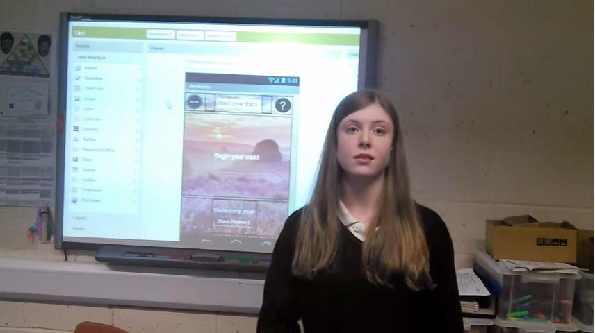 Speyside pupils prepared a video to explain their App (see below).