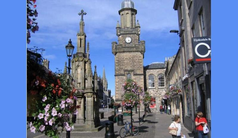 Tolbooth - exhibition next month.