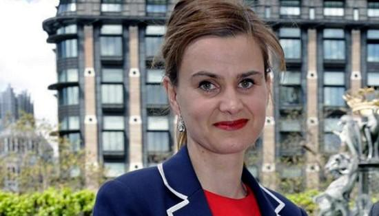 Jo Cox MP - shot while talking to constituents today.