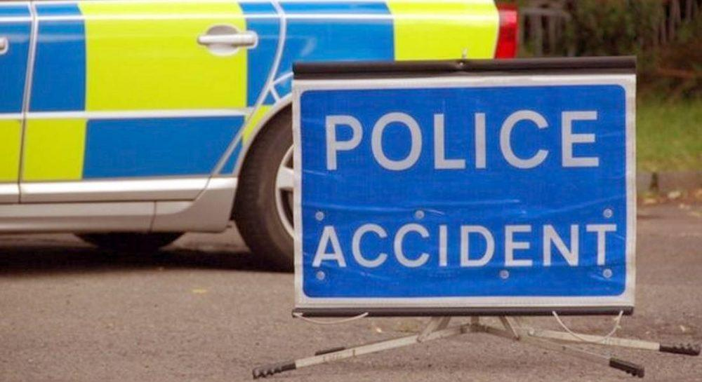 A woman in her 90's was taken to hospital.