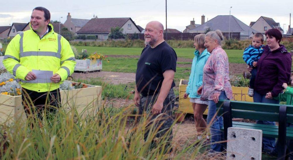 Burghead Station project seeking help in erecting poly-tunnel.