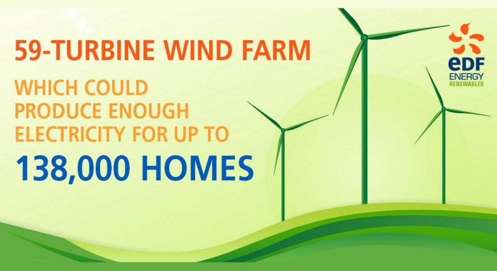 Dorenell wind farm project - SSE Chief Executive asked to reconsider overhead option.