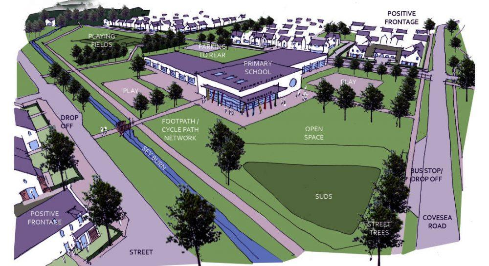Plans for development of new Elgin community in line for national awards.