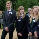 Royal visitor unveils anniversary tribute to DofE Awards