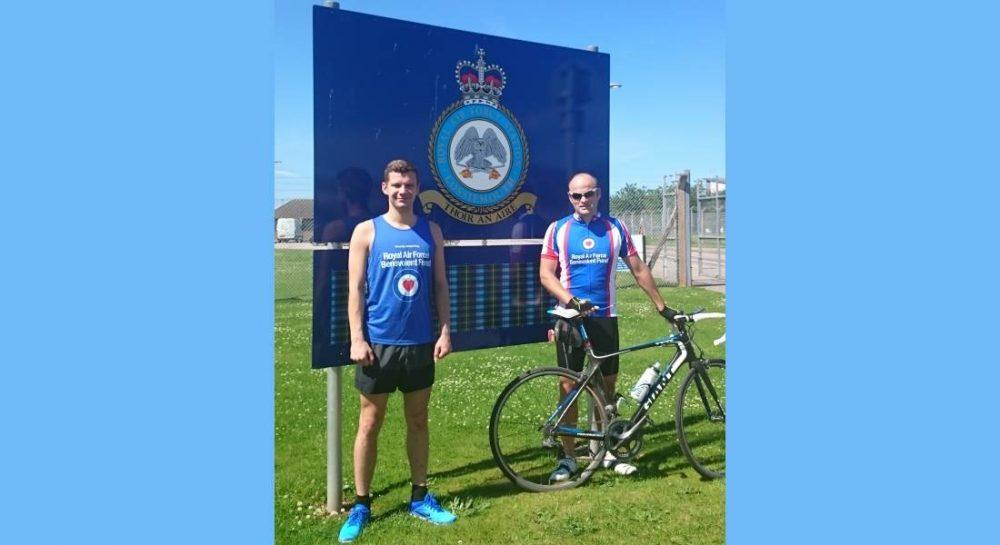 Mike and Danny are set to go the extra mile for RAFBF funds.