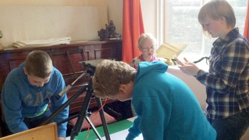 Youngsters offered another opportunity to take part in film production.