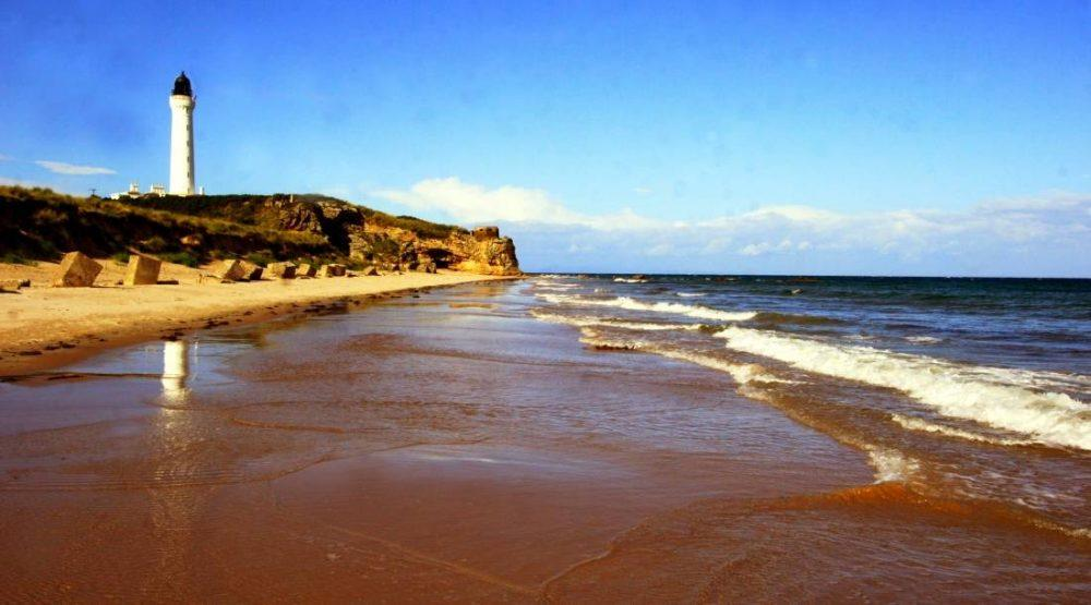 Beach sand issue should now be sorted (pic: Easter Kintrae House)