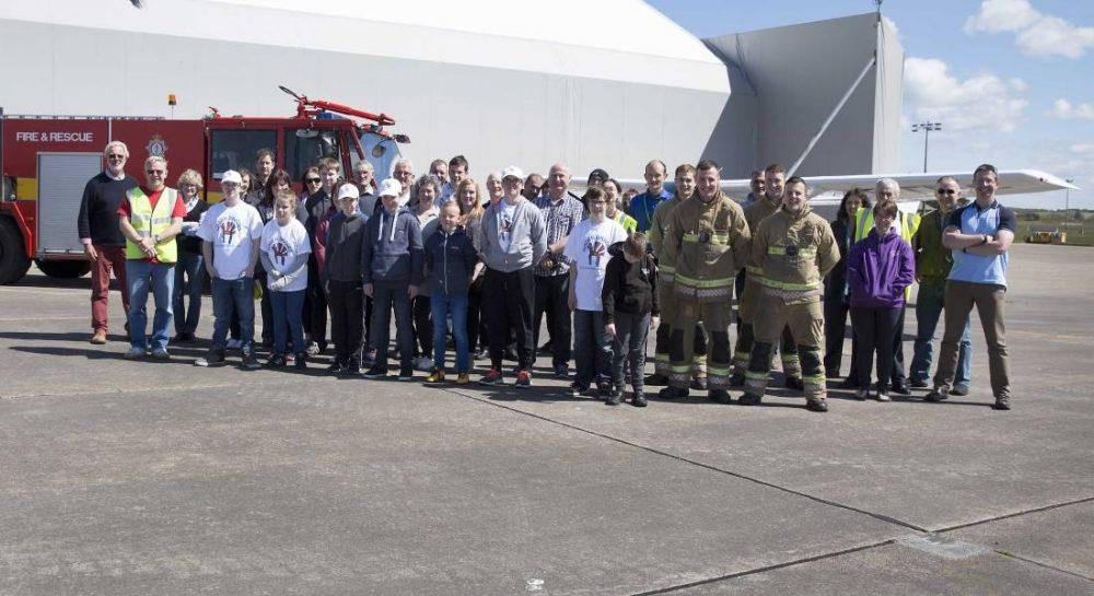 Moray Flying Club hosted their annual 'Bader Braves' day recently.