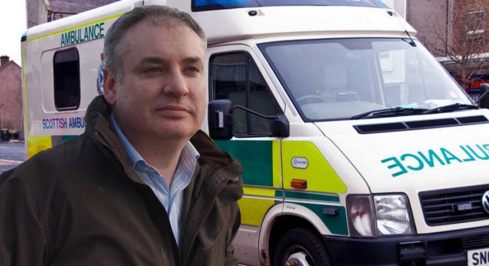 Lochhead to demand that Moray be placed at top of the list for new Paramedics.
