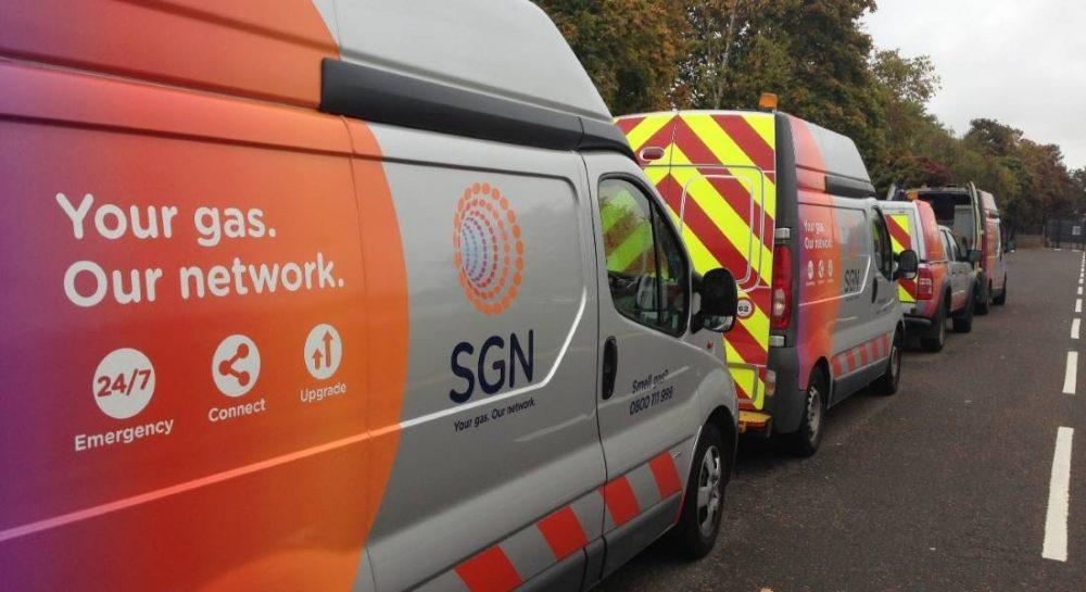 SGN staff being put at risk by motorists trying to break through roadworks.