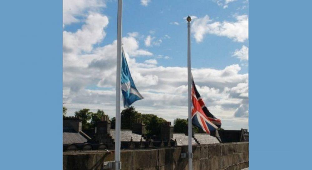 Flags flew at half mast on Friday as a mark of respect on the centenary of the Somme.