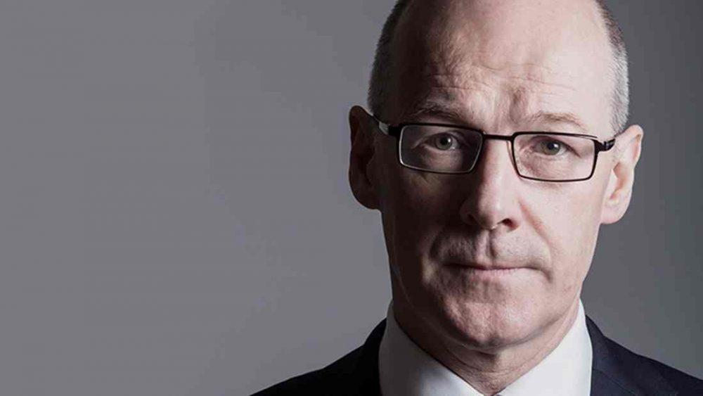 John Swinney - has contact all local councils with 'Named Person' update.