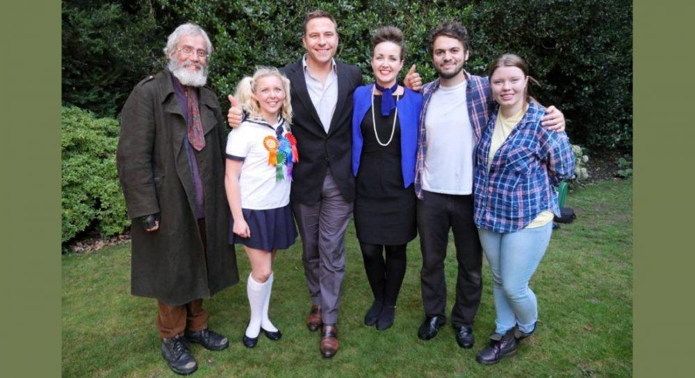 Heartbreak team - Howard Scott-Walker, Georgie Hull, David Walliams, Lily Carrie, Danny Milwain and Sam Dart (Pic: Capel Manor)