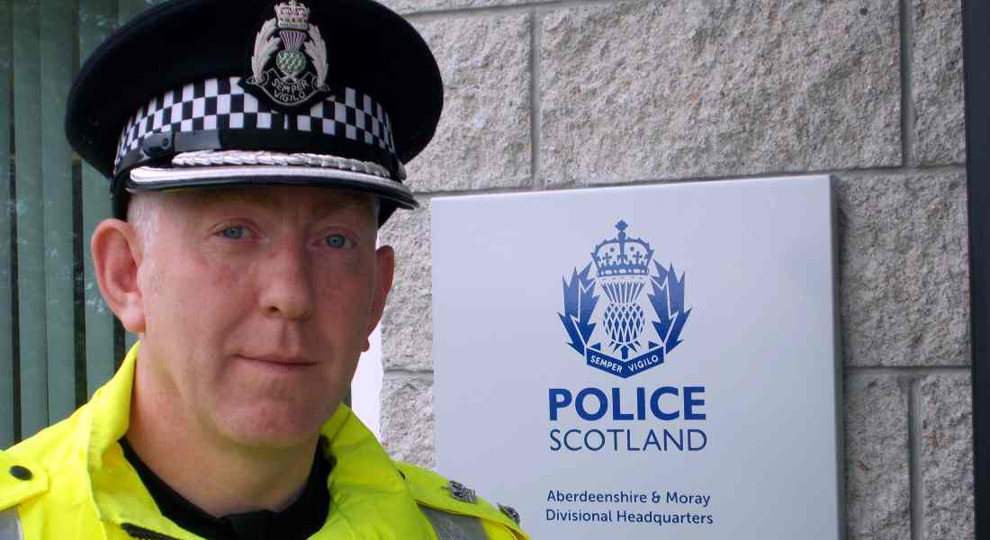 Chief Superintendent Campbell Thomson was reporting to Moray Council.