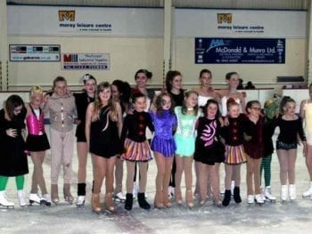 Permalink to: Moray skaters put on an ICESTAR performance to full house