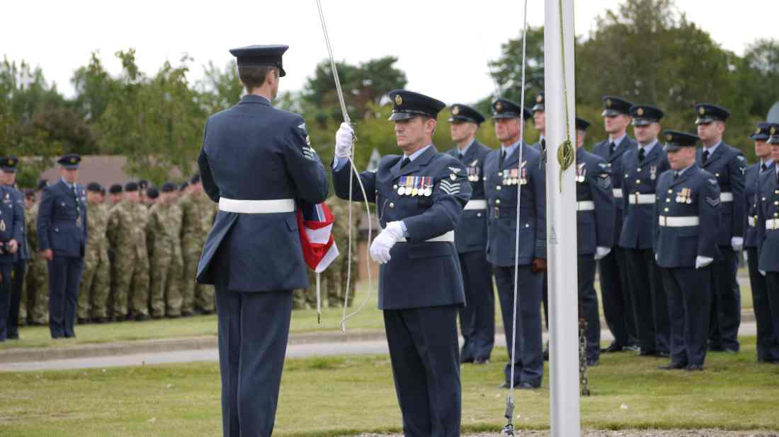 Promises made when the RAF lowered their colours at Kinloss must be kept.