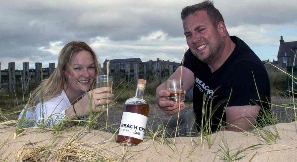 David and Lara Beach hope to raise £65,000 to realise their dreams of owning a rum distillery. Pic: Marc Hindley, Chit Chat PR.