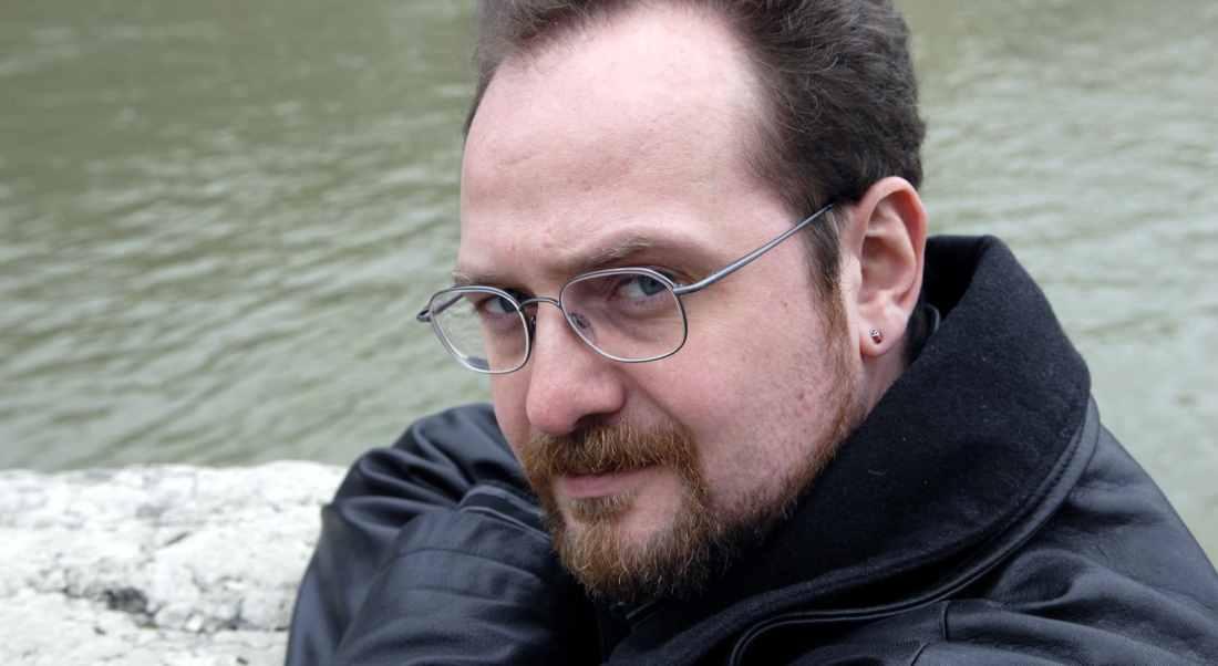 Stuart MacBride - headlining the Moray Book Festival in two weeks.