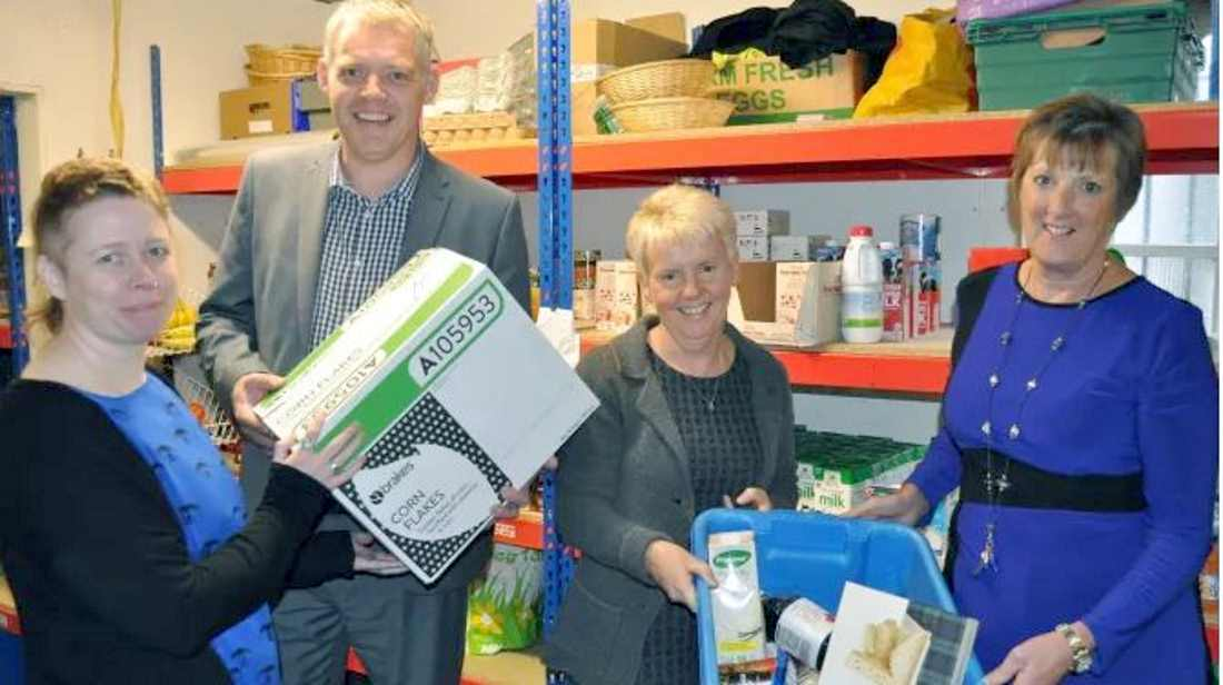 Contract deal with Moray Council will see a community benefit for Moray Foodbank.