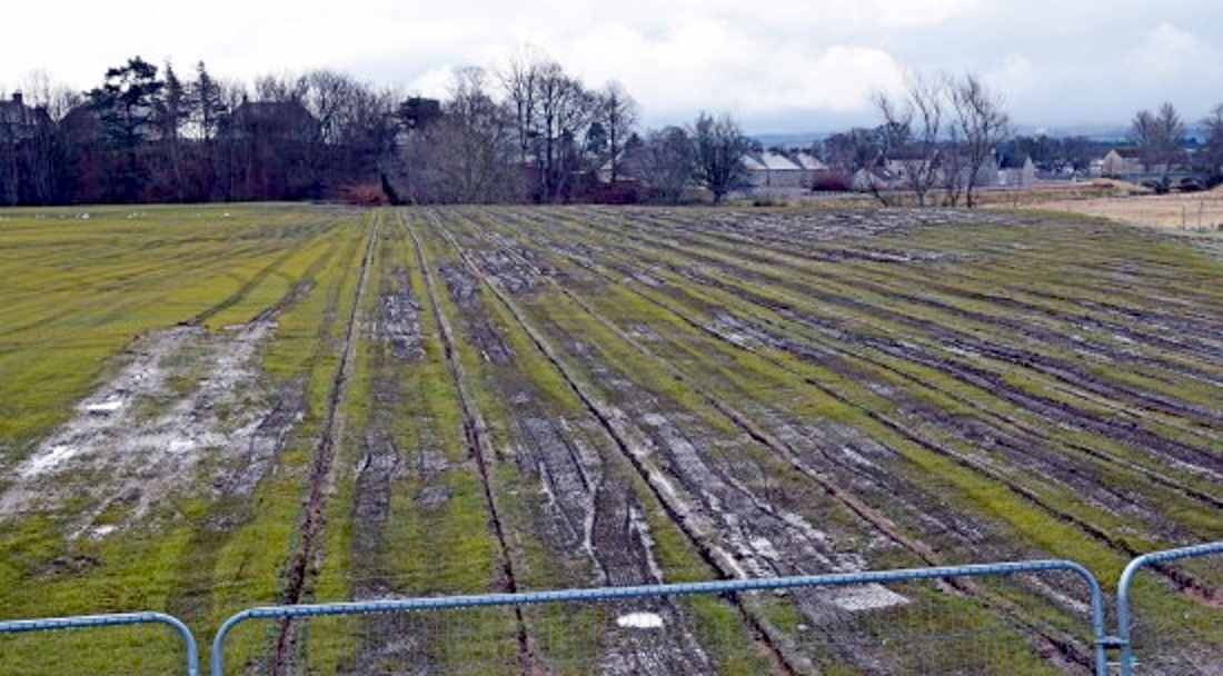 Elgin community will get their pitches back - but no pavilion.