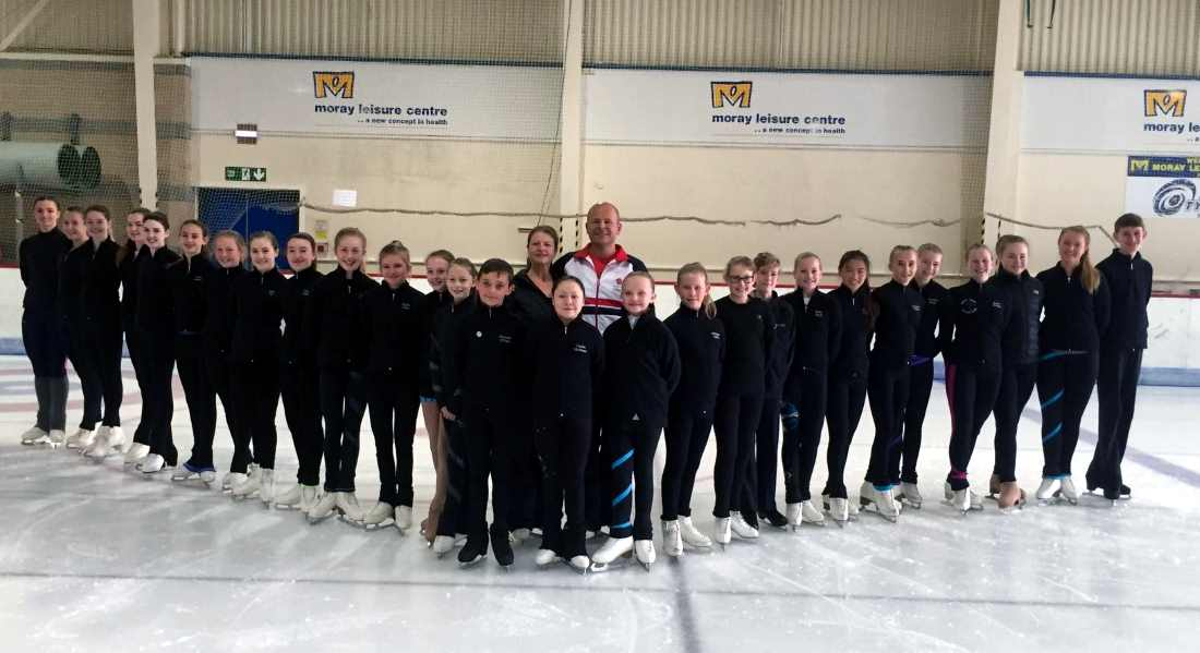 More success for Moray Figure Skating Club.