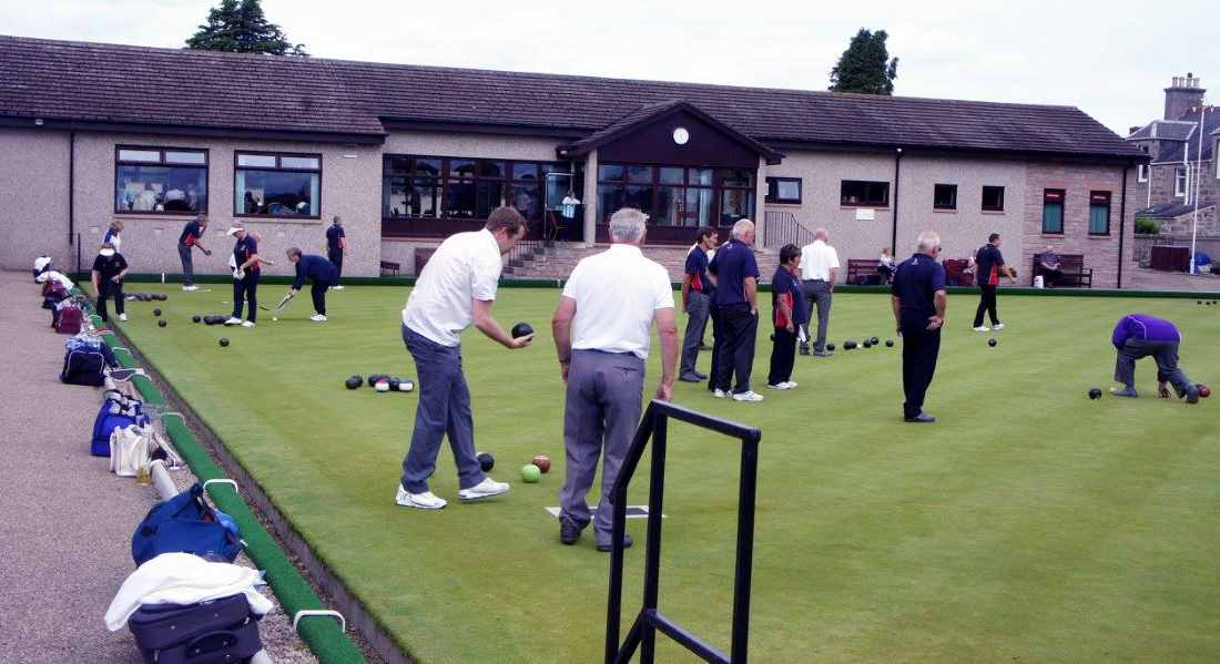 International cast of bowlers roll up to Moray this weekend.