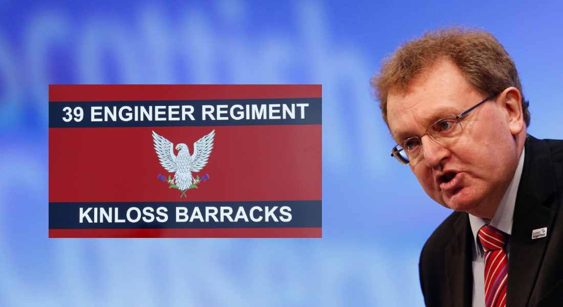 David Mundell questions why fears were ever expressed over Kinloss Barracks.