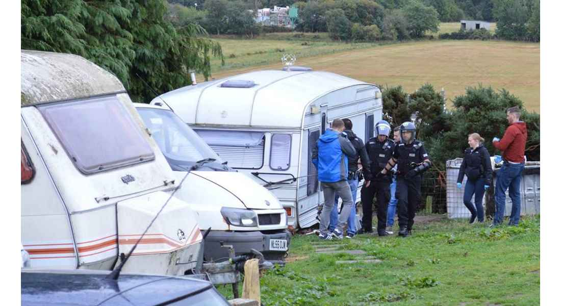 Operation was carried out in Lossiemouth, Elgin and Forres.