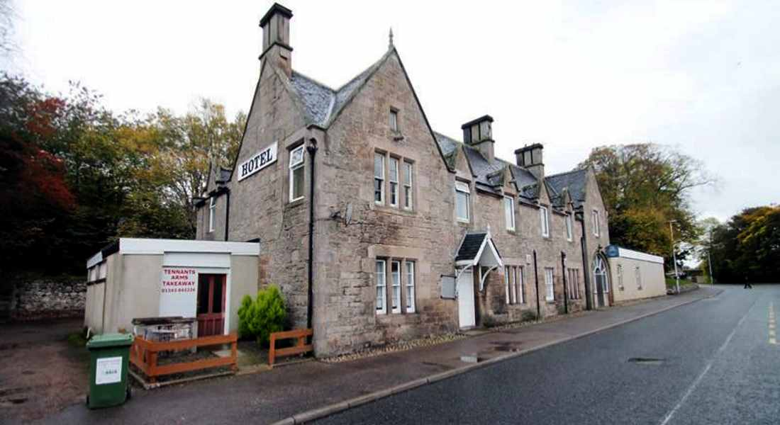 Tenant Arms Hotel will make way for a new shop and car park.