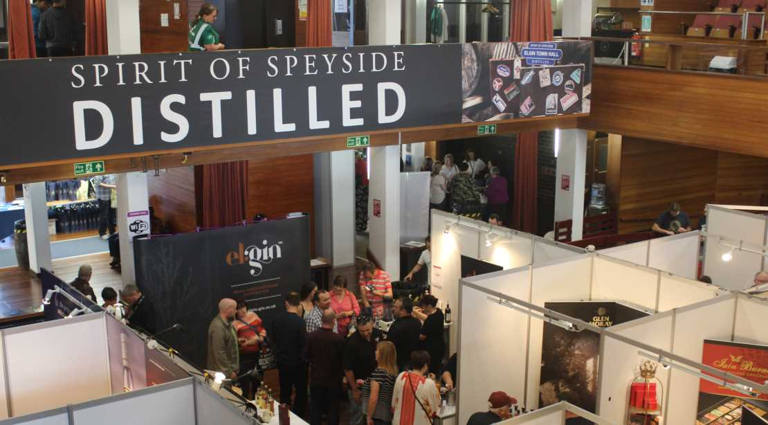 Four packed sessions at the Spirit of Speyside: Distilled.