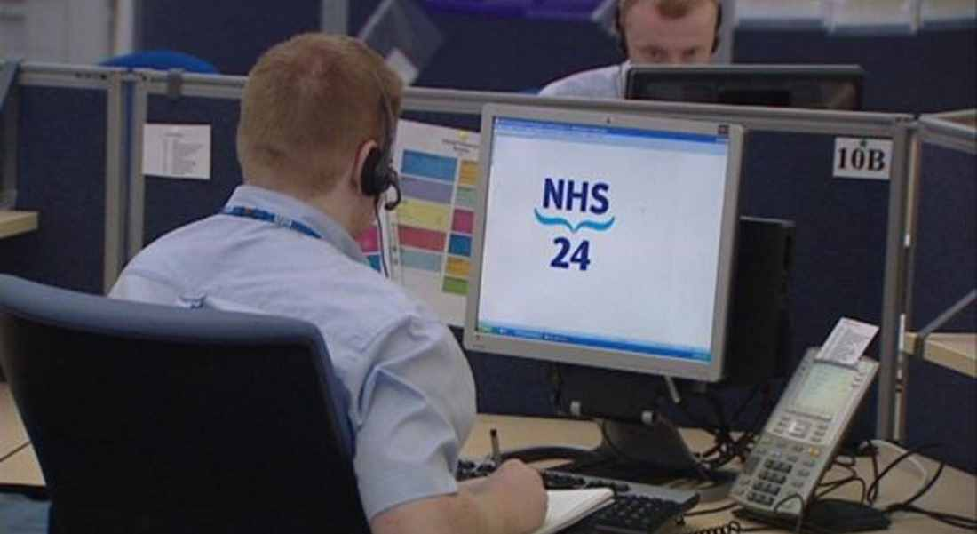 NHS24 - failing elderly patients who find themselves in trouble?