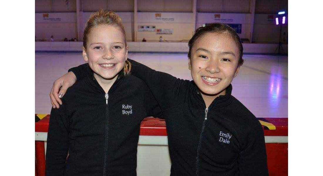 Emily Dale (right) suffered a neck injury in car accident.