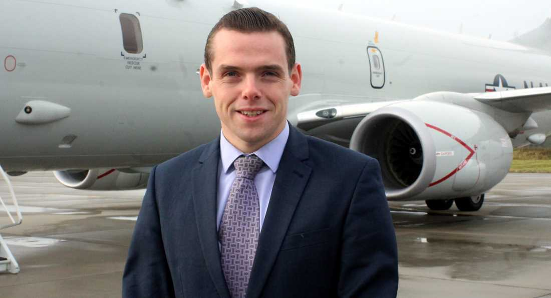 Douglas Ross - disappointment at Police Scotland figures.