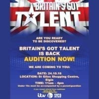 Britain's Got Talent scouts will be in Elgin on Monday.