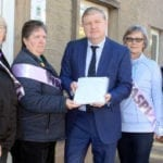 Moray women send their pension rights message to Westminster