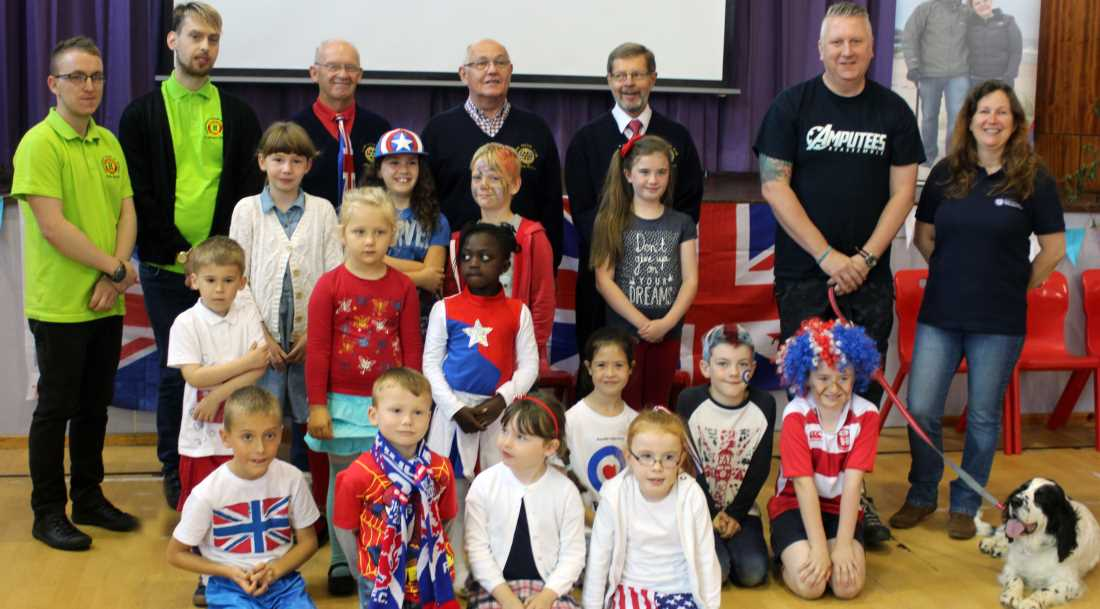 Moray primary kids celebrate Red, White and Blue Day – insideMoray