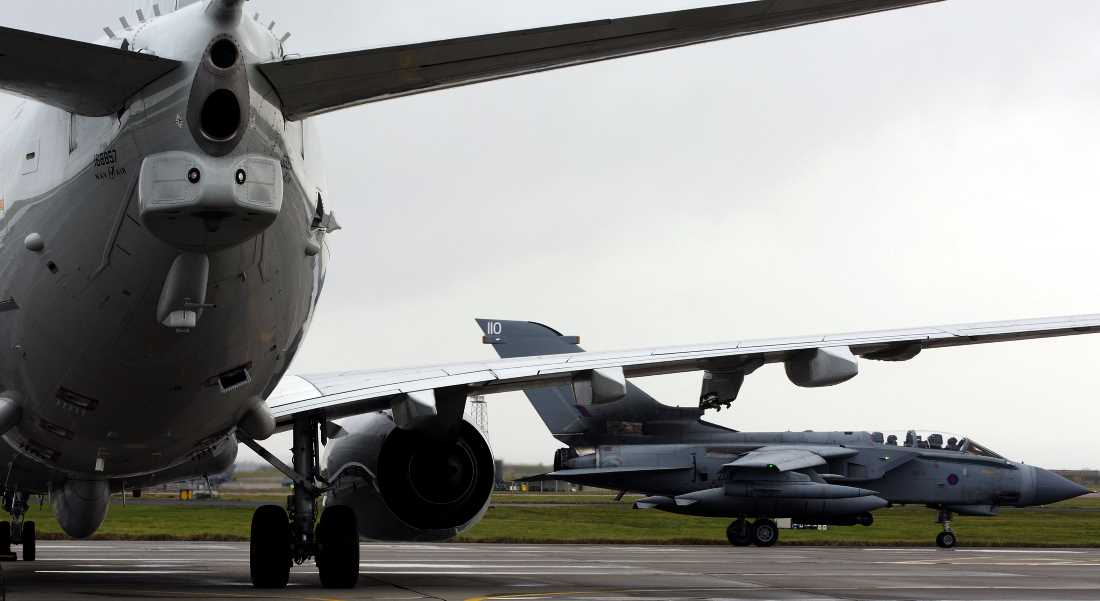 Joint Warrior draws to a close at RAF Lossiemouth.