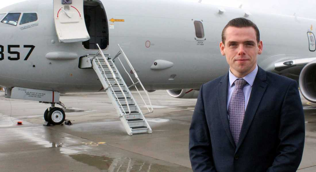 Douglas Ross - will not give way over refereeing row.