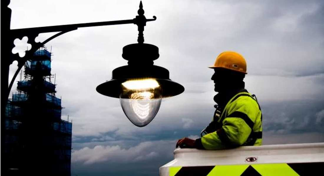 £5.5m replacement programme for street lighting is well under way.