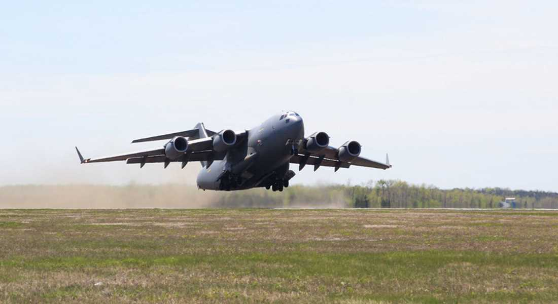C17 flights have been transporting nuclear waste through RAF Lossiemouth.