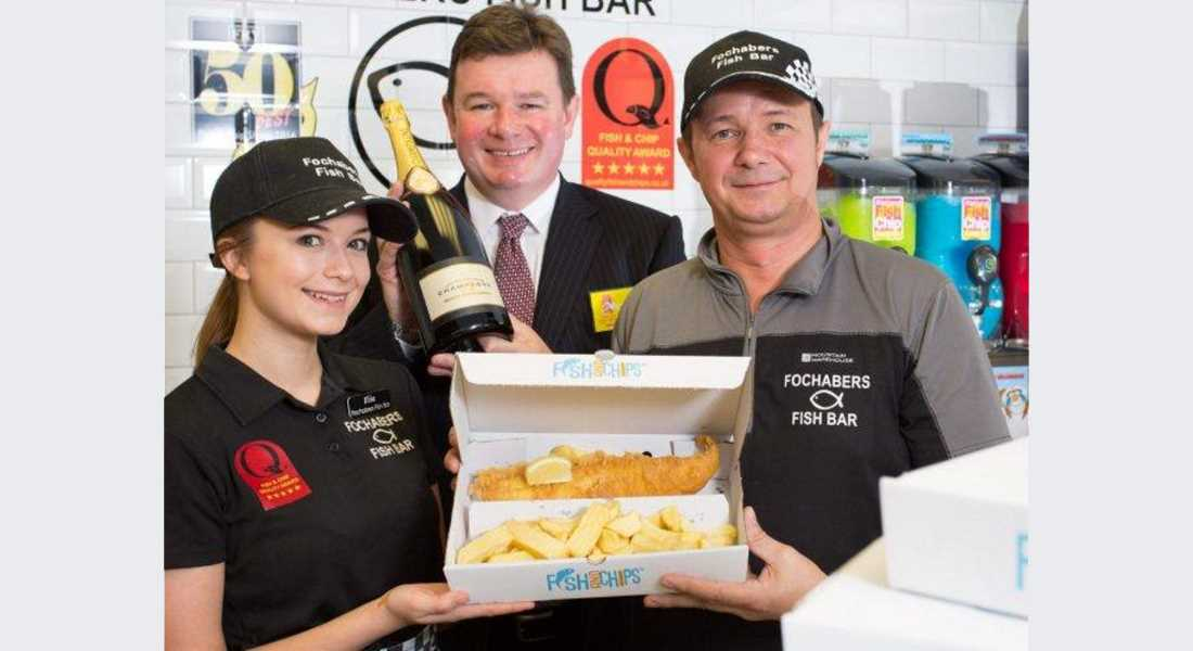 None better - Fochabers Fish and Chips is voted Scotland's finest.
